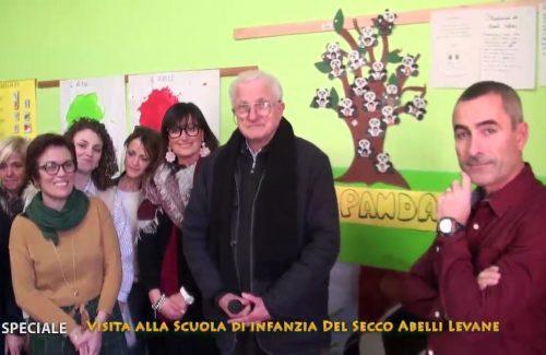 Levane: in onda su Tv1 una puntata speciale sull'asilo Del Secco Abelli